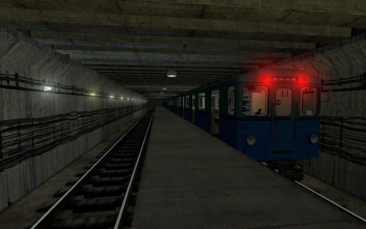 Симулятор метро (мод metrostroi) для garry mod 13.