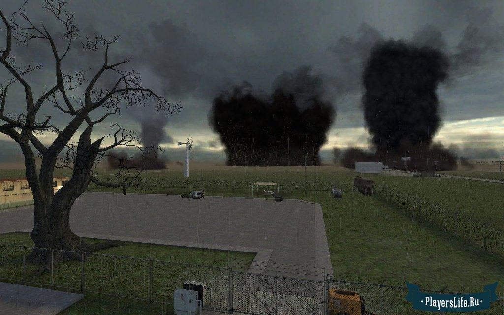 Интересный и необычный мод для игры Garrys Mod 13, добавляющий карту с  настоящим Торнадо, который будет уносить всех на своем пути, дома, людей,  животных. cc941a819d4