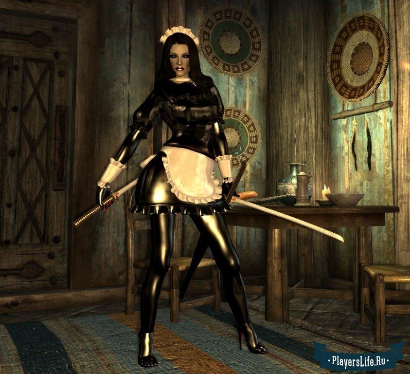 Моды на сексуальную броню skyrim