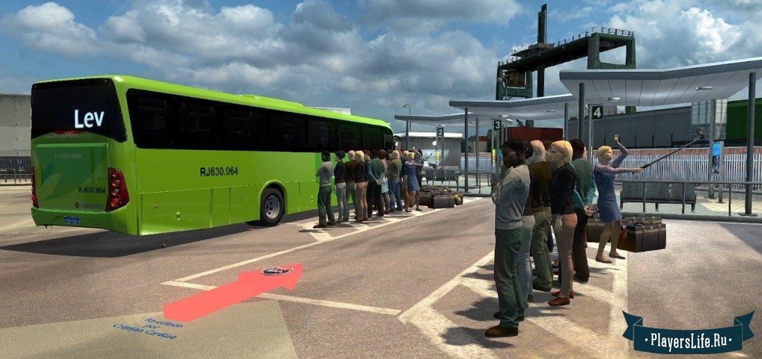 Игры евро трек симулятор 2 моды Пассажирские перевозки - Zabosyg