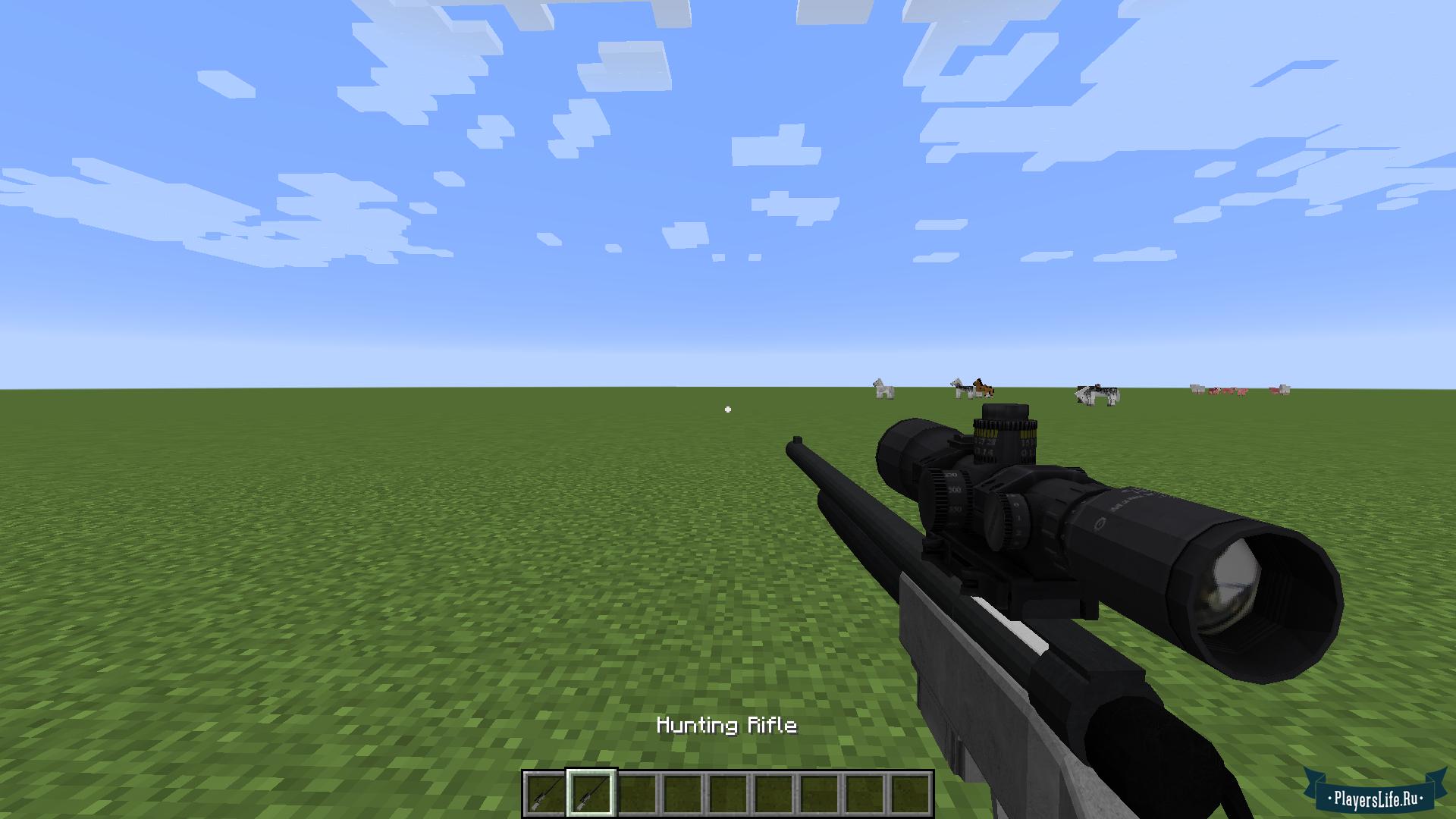 мод на 3d оружие в майнкрафт 1.6.4 #7
