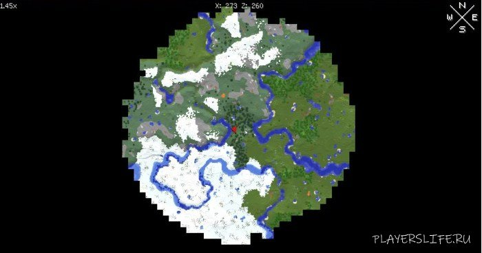 Map 111 2.Xaero S World Map Dlya Minecraft 1 13 2 1 12 2 1 11 2 1 10 2 1 8